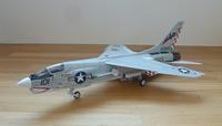 F-8J 完成です - 妄想こそ我が墓銘碑
