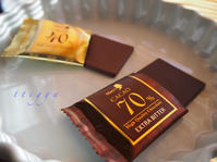 一応、チョコを。 - Photo*Today & Then