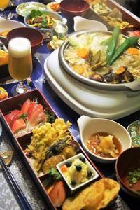 ■晩酌メニュー 【丸ごと白菜と豚肉の鍋他】です♪ - 「料理と趣味の部屋」