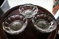 銀彩縁のガラス小鉢8 - スペイン・バルセロナ・アンティーク gyu's shop