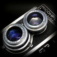 ※ 古いカメラが好きです [44] Ricohflex Holiday 1956 - 気まぐれ写真工房 new