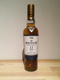 605.The MACALLAN DOUBLE CASK 12 years - one thousand daily life