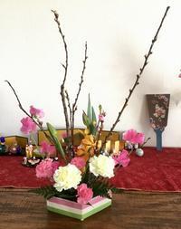 小さい春、来ましたよ〜 - coco diary 山口県 お花と絵と楽しいティータイム