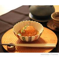 鶏と蓮根の真薯 - HOSHIZORA DINING