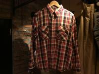 70's BIG YANK cotton flannel shirt - BUTTON UP clothing