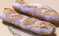 バゲット&チョコレートのおやつ - ~あこパン日記~さあパンを焼きましょう