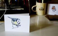 ガーデンバード、かわいい動物たちのミニカード - ブルーベルの森-ブログ-英国のハンドメイド陶器と雑貨の通販