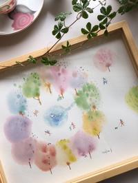 『春を呼ぶミニギャラリーの絵』 & 『ヒヤシンス鉢入荷しました』 - CROSSE 便り
