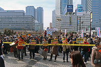 ストップ安倍暴走政治! 2.10市民と野党の大街頭宣伝 - ムキンポの亀尻ブログ