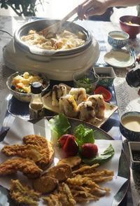 ■続・朝ご飯【②ヒジキのリメイクおにぎり/天ぷら/自家製納豆&甘酒など。】 - 「料理と趣味の部屋」