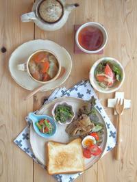 ワンプレート朝ごはん🌄🍴 - 陶器通販・益子焼 雑貨手作り陶器のサイトショップ 木のねのブログ
