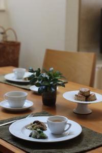 スコーンの朝食 - Life w/ Pure & Style