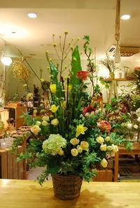 アレンジメントのご紹介。 - 花と暮らす店 木花 Mocca