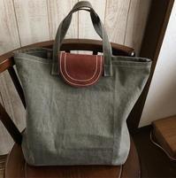 帆布のバッグ - Pistachio green