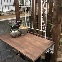 パーゴラの棚作り - misaの庭暮らし~Abandon~