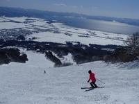 大雪のあとはスキー日和 - 漆器もある生活