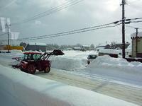 雪かき - なんとなくデジタル