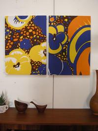 vintage fabric panel / FINLAND - hails blog