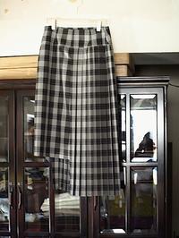 揺れ方が美しい!!uemulo munenoli プリーツスカート『DAISY』 - contemporary creation+ ART FASHION DESIGN