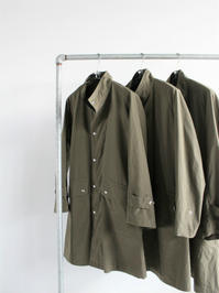 NEEDLESBanded Collar Coat - Pe/N Ripstop - 『Bumpkins putting on airs』
