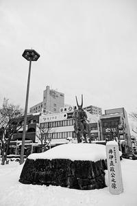 雪の彦根城其の一 - デジタルな鍛冶屋の写真歩記
