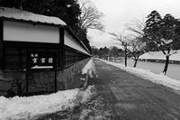 雪の玄宮園 - デジタルな鍛冶屋の写真歩記