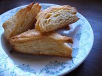 若山曜子さんレシピのパイ風スコーン - パンとお菓子