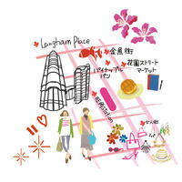 香港map~日経woman - まゆみん MAYUMIN Illustration Arts