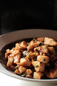鶏胸肉の味噌炒め - いつもの、あれ、食べようかな