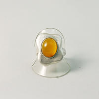 彫金Ring 「目玉焼き」カーネリアン Fried egg-Carnelian - natural essence : EKO PROJECT