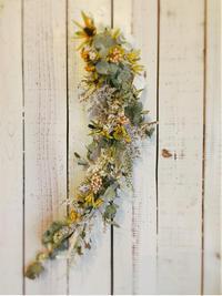 今日の 1dayレッスン - driedflower arrangement ✦︎ botanical accessory ✦︎ yukonanai ✦︎ gland*