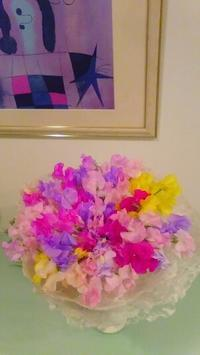 フラットな花束 - La Pousse(ラプス) フローラル