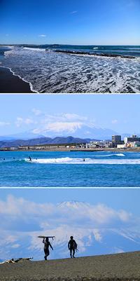 2018/02/18(SUN) 晴天の海では..........。 - SURF RESEARCH