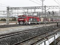 藤田八束の鉄道写真@暑い季節になりました、納涼をかねて冬の鉄道写真を集めてみました・・・貨物列車、鉄道写真 - 藤田八束の日記