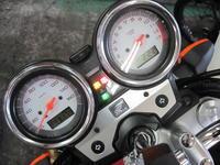 VTRのFI警告ランプ点灯 - バイクの横輪