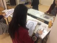 【活動レポ】鉛筆デッサンの会@四ツ谷 2/4 - 造形+自然の教室  にじいろたまご