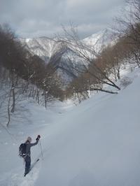 降雪後の湧谷にはずれなし! - 山にでかける日
