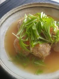もやし団子汁 - 料理研究家ブログ行長万里  日本全国 美味しい話