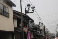 長浜市の街灯  (滋賀県) - 旅めぐり&花めぐり