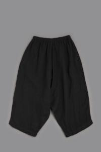 jujudhau DUMPY PANTS (LINEN H.B.BLACK) - un.regard.moderne