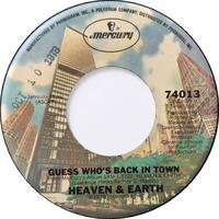 Heaven And Earth – Guess Who's Back In Town / No Limit - まわるよレコード ACE WAX COLLECTORS