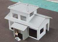 レイアウトに挑戦!(ホ)~ 34.2階建ての民家を作る(2) - 【趣味なんだってば】 鉄道模型とジオラマの製作日記