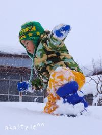雪遊びに雪の多いトコへ^0^ - akastyle^-^