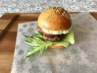 アボカドバーガーとワンプレートと日本酒 - カフェ気分なパン教室  ローズのマリ