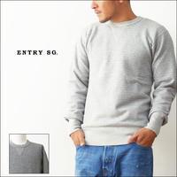 ENTRY SG[エントリーセスジー] JETTER【T3010CBL】 [ジェッター] SWEAT LANG SLEEVE/両Vセットイン・スウェット・スエット・長袖スエット[MEN'S] - refalt blog