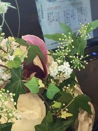 おいしく糖質制限 - お花に囲まれて