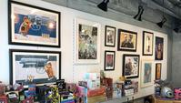 ショップの壁の絵を一部入れ替えました - 下呂温泉 留之助商店 店主のブログ