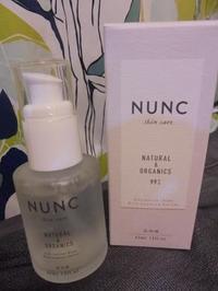 「NUNC(ヌンク)リッチエッセンスセラム」使っています! - 初ブログですよー。
