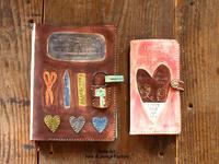 【オーダー】手帳カバー手帳型スマホケース - eri's Art love & peace Factory