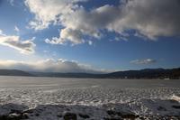 真っ白に凍った諏訪湖 - HAPPY to ...